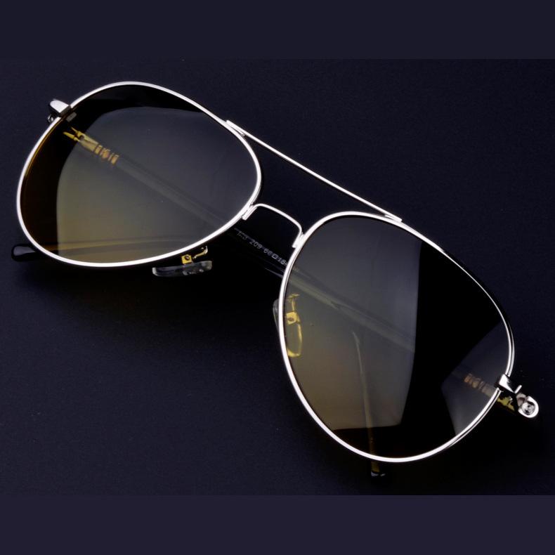 Day and night driving mirror polarized glasses anti-glare 209 sunglasses polaroid men women female police sunglasses protective(China (Mainland))