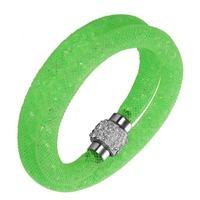 DGW 2015 NEW Fashion Jewelry Handmade Stardust Crystal Rhinestone Bracelets Women Charm Bangle Wholesale Free Shipping