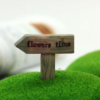 В розницу симпатичные мини этикетки для цветов украшения фея миниатюры садовый гном мох бутылка рабочего смолы ремесла для домашнего декора