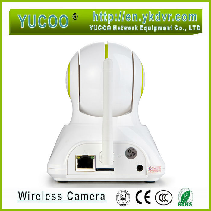 Two-way audio indoor wifi 3g gsm ip camera(China (Mainland))