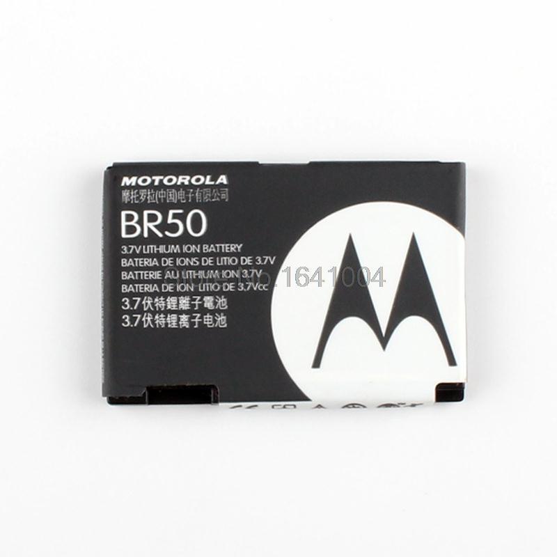 100 Original Replacement Battery For Motorola BR50 V3 V3ie V3i V3C V3M V3XX MS500 U6 710mAh
