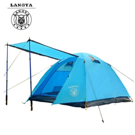 Туристическая палатка LANGYA 3 4 съемник jonnesway ae310113