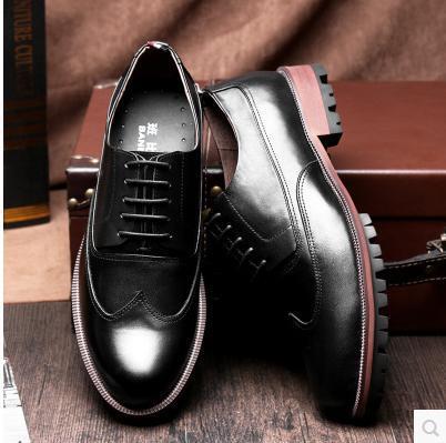 Black Dress Shoes Brown Sole images