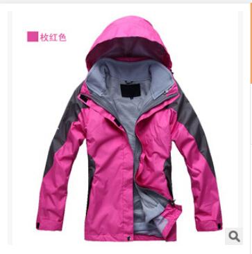 HOT SALE 2015 Snowboard Jacket Winter Outdoor Sport Outerwear Waterproof Warm Women skiing Coat Jackets Mountaineering Jackets(China (Mainland))