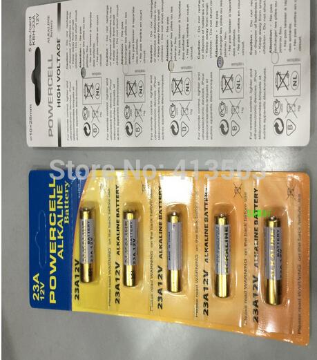 1 x 23A 12v Batteries 23AE MS21 A23 V23GA VR22 MN21 N 30568(China (Mainland))