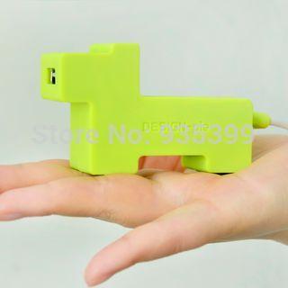 2015 latest Funny 4 Port USB Spliter Cute Animal Charging Audio Usb 2.0 Hub Driver for pc computer(China (Mainland))
