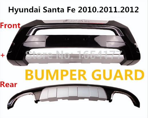 SantaFe BUMPER GUARD ( Front+Rear ) ISO9001 High Quality Luxury models Auto BUMPER Plate FOR Hyundai Santa Fe 2010.2011.2012(China (Mainland))