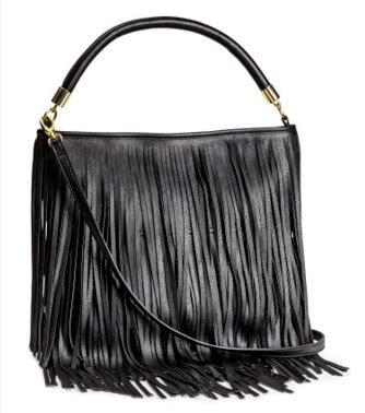 Free shipping 2015 new H counter genuine black pink fringed shoulder bag Messenger Bag new new black pink fringed tassel Clutch(China (Mainland))