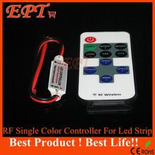 1 шт. одноцветные пульт дистанционного управления диммер DC 12 — 24 В 8 режим 11 ключи беспроводной рф из светодиодов контроллер для из светодиодов полосы света SMD 5050 / 3528