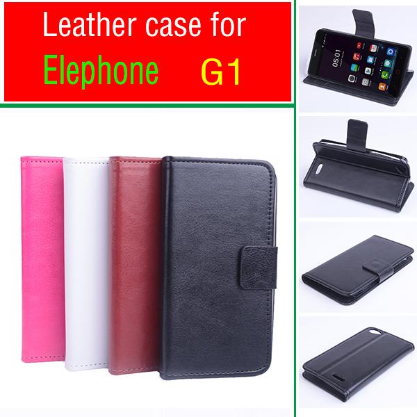 Elephone G1 Phone Cases For Elephone G1 High Quality Horizontal Flip PU Leather Case For Elephone G1 Free Shipping(China (Mainland))