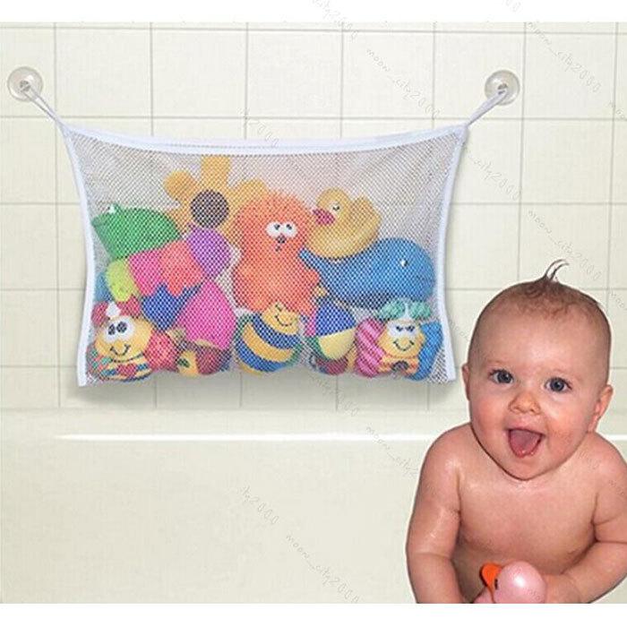 حار بيع الاطفال لعبة حوض استحمام الطفل الالتصاق تخزين أنيق حقيبتكشبكة المنظم الحمام صافي(China (Mainland))