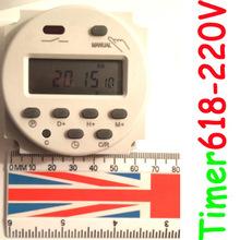 Sinotimer бренд цифровой программируемый реле времени реле 220 В 240 В AC TM-618