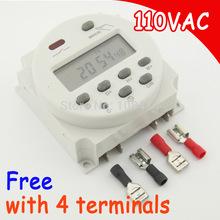 120 V цифровой таймер переключатель часы управление переключатель времени с 4 терминалы подарок