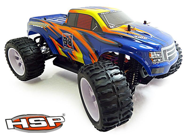 Машина на радиоуправление HSP Rc 4wd 1/10 94111High neewer® aluminum shock absorber 2 piece for rc 1 10 bigfoot car truck fits hsp redcat racing himoto exceed