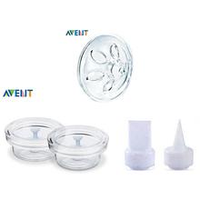Оригинальный бренд AVENT бисфенол — ручной молокоотсос аксессуары лепесток массажная подушка + белый утконоса клапан + исида силиконовые насосные агрегаты