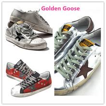 Золотой гусь суперзвезда кроссовки натуральная кожа мужчины женщины низкая одного-сократить дышать леопардовый марка обувь GGDB Scarpe Uomo Donnal