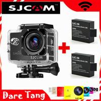 SDV03WE SJCAM Original SJ4000 WiFi HD 1080P Waterproof Car Action Sport Camcorder +2 Pcs Extra batteries