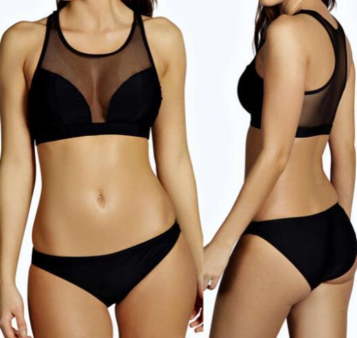 купить Женское бикини New BESTOOM Biquini 2015 Sheer bain W1134 по цене 710 рублей