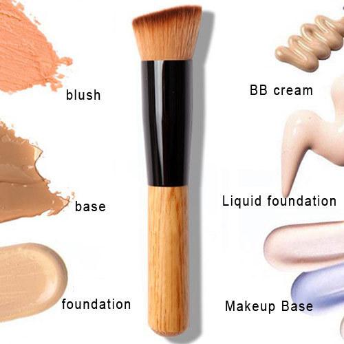 1 PCS Powder Brush Wooden Handle Multi-Function Blush Brush Mask Brush Foundation Makeup Tool Hot Sale 2015(China (Mainland))