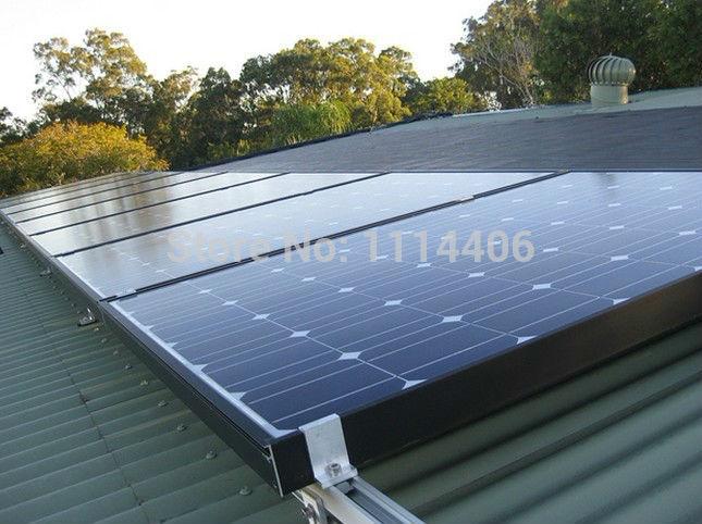 10KW Energy Saver Solar Electricity Generating System for Home Hybrid Solar Inverter(China (Mainland))