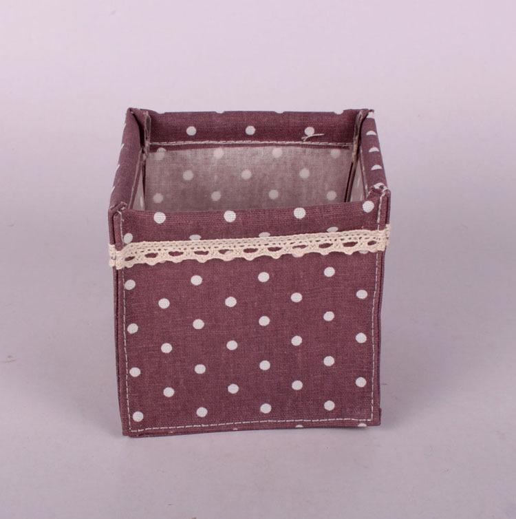 zakka cotton storage box manufacturers specializing in the production of cotton wholesale desktop organize storage box(China (Mainland))