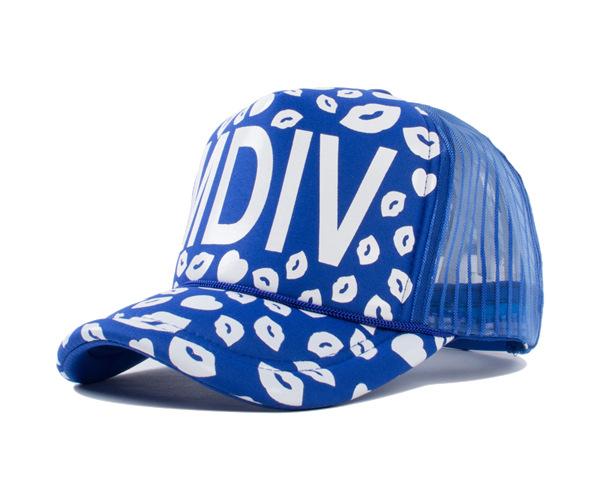2015 summer casual scrawl lip hiphop baseball cap brand mdiv visor mesh hat sun cap bone touca truck hat gorras for women men(China (Mainland))