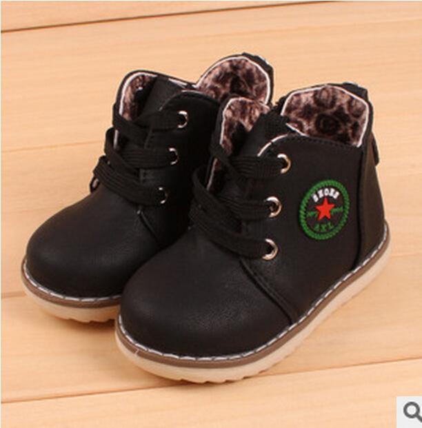 Дети мальчики-младенцы и девочки обувь утолщение хлопок мягкий зима тёплый первый walkerPrewalker обувь 1 - 3 года 501