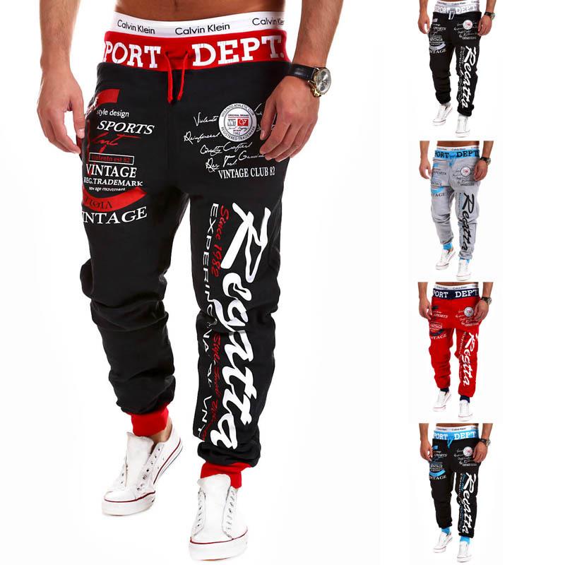 2015 New Mens Drawstring Joggers Men Sport Pants Outdoor Sweatpants Men's Hip Hop Cotton Harem Pants Jogger Pants Pantalones(China (Mainland))