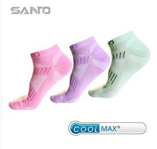 2015 Wholesale 5Pairs Athletic Short Female Socks Outdoor Running Sports Ankle Socks Cotton Fashion Medias Women Socks Brand(China (Mainland))