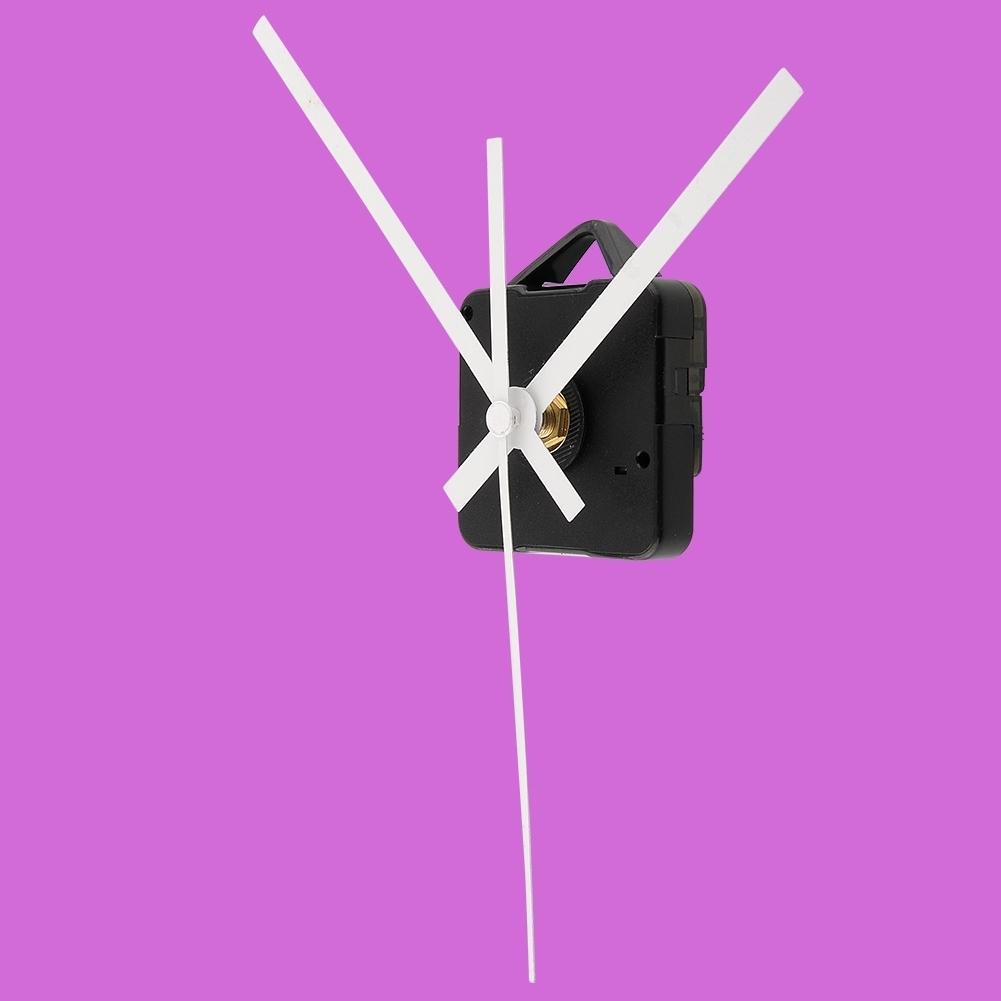 2015 New Brand New Essential Quartz Clock Movement Repaired Parts White Hands Movement Mechanism Repair(China (Mainland))