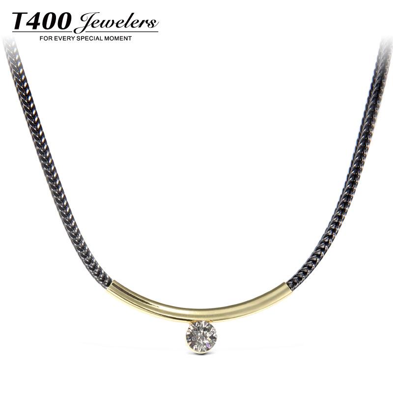 Цепочка с подвеской T400 & Swarovski #10782 Pendant Necklace украшения на шею swarovski gillian necklace 678189