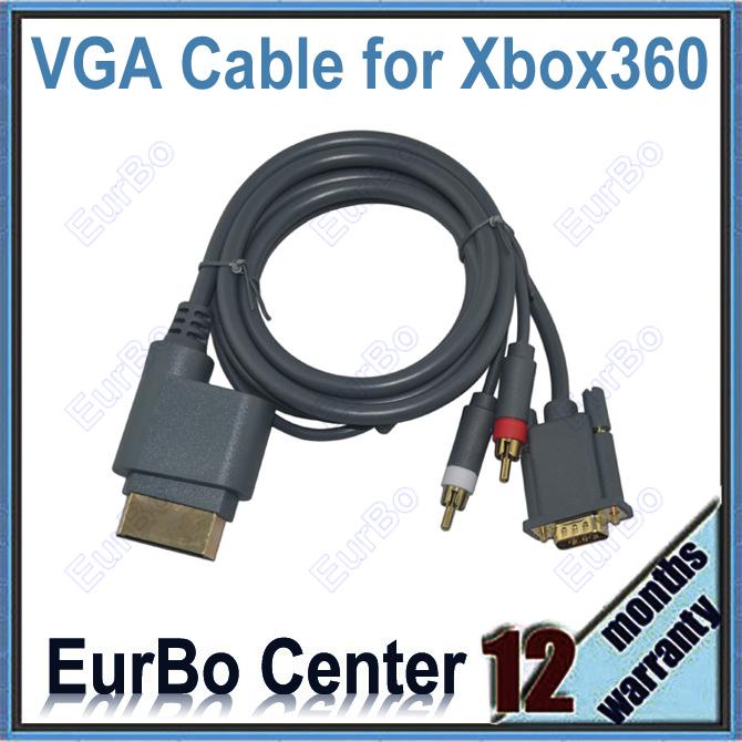 EurBo VGA Xbox 360 eurbo rca av xbox 360
