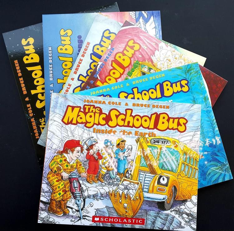 The Magic School Bus Kids Names Magic School Bus English