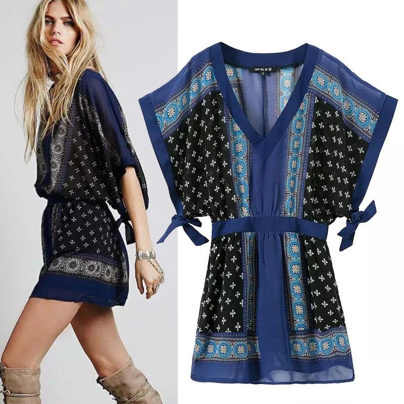 Kimono Sleeve Plus Size Dress Sleeve Causal Kimono Dress