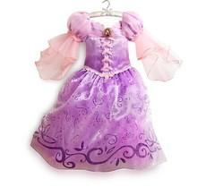 2015 novas crianças crianças menina Cosplay vestidos Rapunzel Sofia traje da princesa vestido para meninas beleza vestido Robe Reine Des Neiges(China (Mainland))