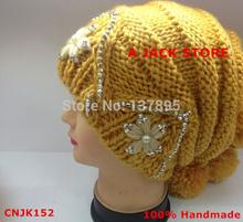 Handmade hat for women from China factory CNJK152(China (Mainland))