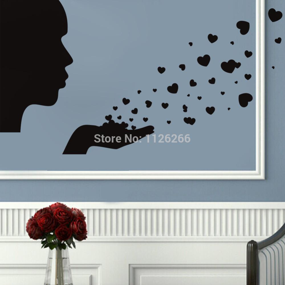 DIY Vinyl Wall Sticker Removable Art Decals Modern Wallpaper Creative Room Decoration(China (Mainland))