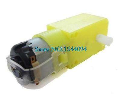 1x DC3V-6V DC Geared Motor TT For Robot Smart Car Chassis DIY Anti-interference(China (Mainland))