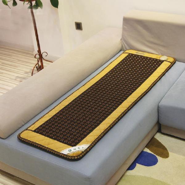 2014 Most Popular Jade Heating Sofa Mattress Cushion Leather Edge Far Infrared Thermal Tourmaline Mat 50*150cm For Sale(China (Mainland))