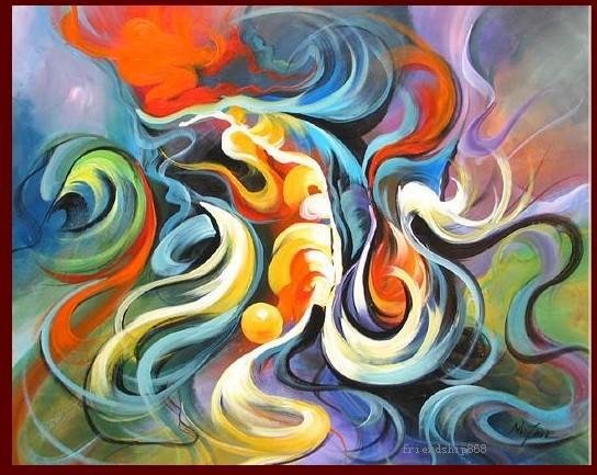 Online kopen wholesale tekening abstracte uit china tekening abstracte groothandel - Ruimte van de jongen kleur schilderen ...