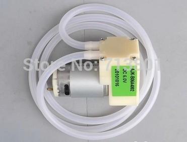 Free shipping Mini pump diaphragm pump 12V DC3.6V vacuum electric pump circulating pneumatic pump(China (Mainland))