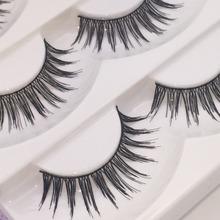 5 Pairs Thick Soft Cross Fake Eye Lash Party Makeup Extension False Eyelashes fashion fake eyelashes