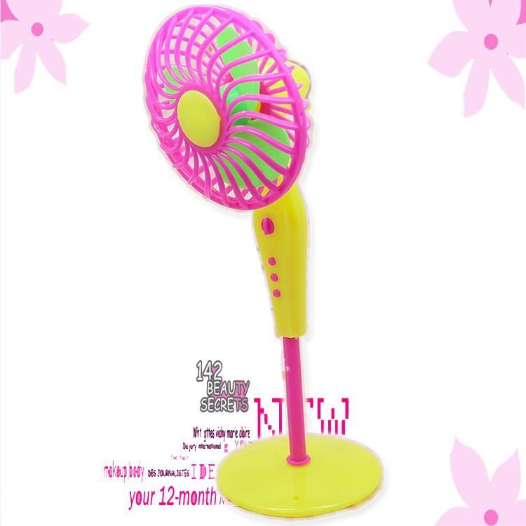 Mechanical Fan 2 colors Choose Furniture for Barbie Dolls/Monster High Dolls Home & Garden(China (Mainland))