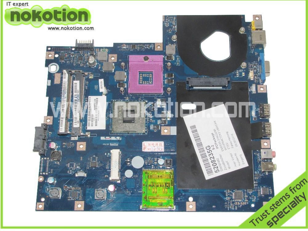 MBN5402001 Laptop motherboard For Acer Emachines E525 E725 Intel gl40 ddr2 Socket pga478 KAWF0 L01 LA-4851P MB.N5402.001(China (Mainland))