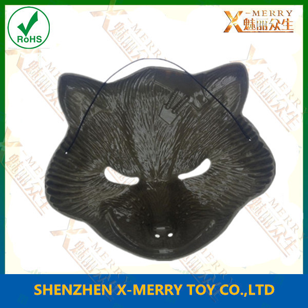 X-MERRY black wolf mask Halloween Mask Good Party Deoration(China (Mainland))