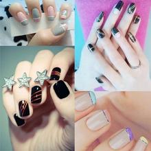 10pcs/set Nail Art Painting Creative DIY Fingernail Decoration Women's  Mixed Color Rolls Striping Tape Line Gummed Nail Sticker
