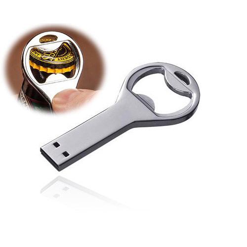 Wholesale Guaranteed Full Capacity Waterproof Dustproof Beer Opener Bottle opener Thumbdrive USB 3.0 Flash Drive Disk! JS(China (Mainland))