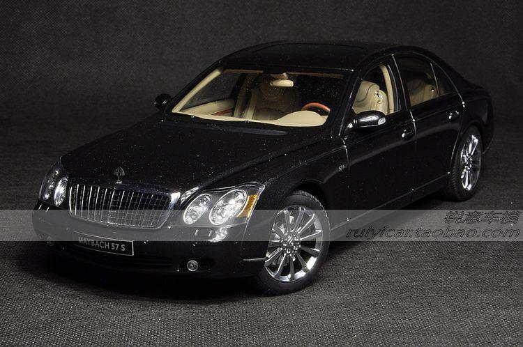 AUTOart Maybach 57s black car model Alto Maybach(China (Mainland))