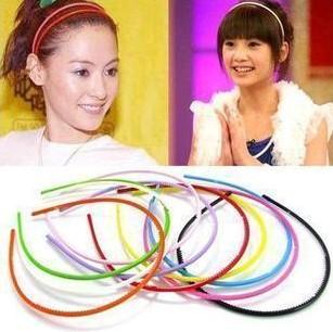 BS1981 Beautiful candy color hair band hair accessory broadside headband(China (Mainland))