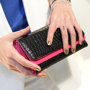 Hot Selling Fashion Fringe Designer Purse Wrist Clutch Women Wallets Lady Wallet Women Card Holder HandBag Wristlet Evening Bag(China (Mainland))